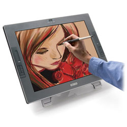 Cintiq screen - pressure sensitive pannel...